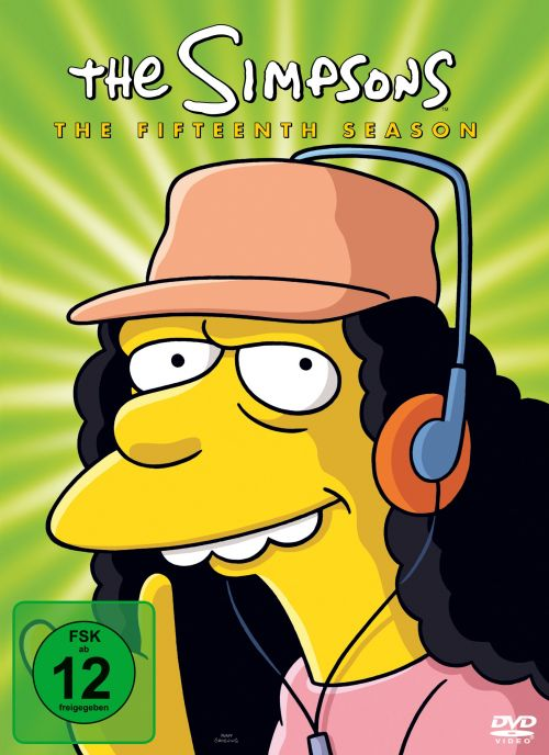 Simpsons Staffel 15 Collection Cover