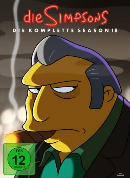 Simpsons Staffel 18 Collection Cover