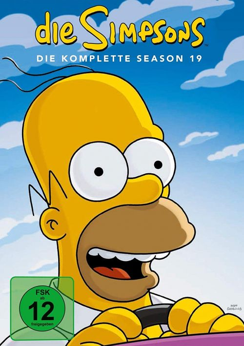 Simpsons Staffel 19 Collection Cover