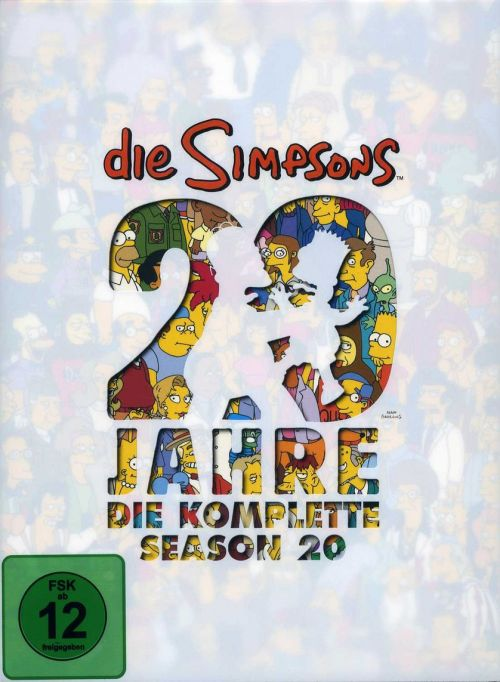 Simpsons Staffel 20 Collection Cover