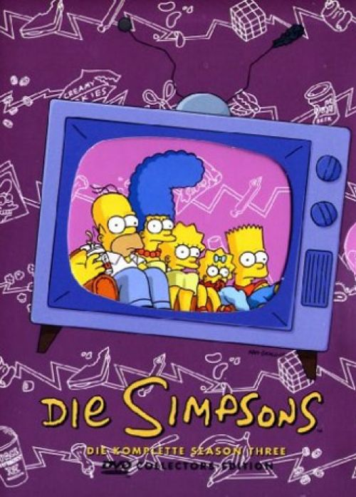 Simpsons Staffel 3 Collection Cover