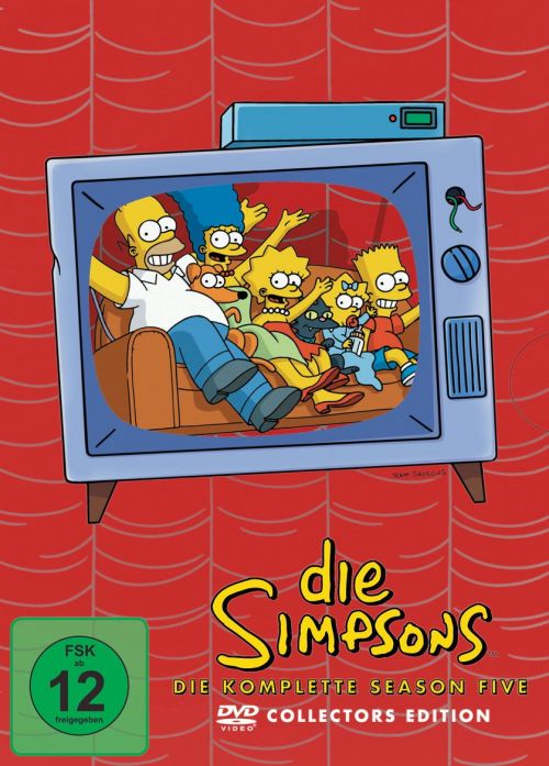 Simpsons Staffel 5 Collection Cover