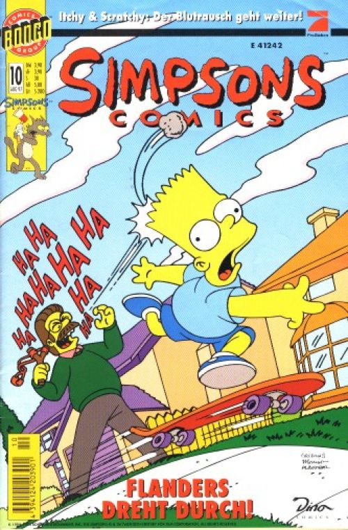Simpsons Comic Nr. 10