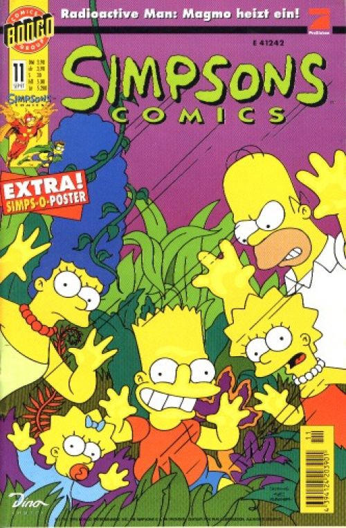Simpsons Comic Nr. 11