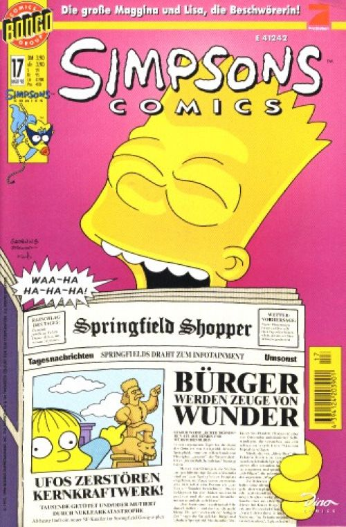 Simpsons Comic Nr. 17