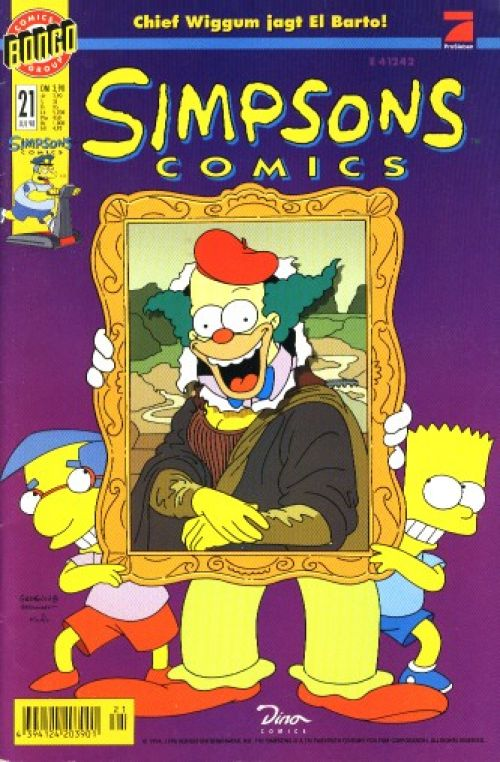 Simpsons Comic Nr. 21