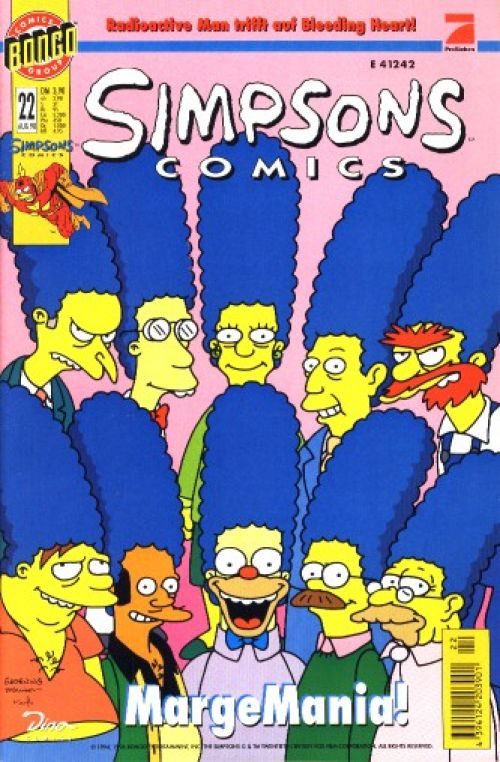 Simpsons Comic Nr. 22