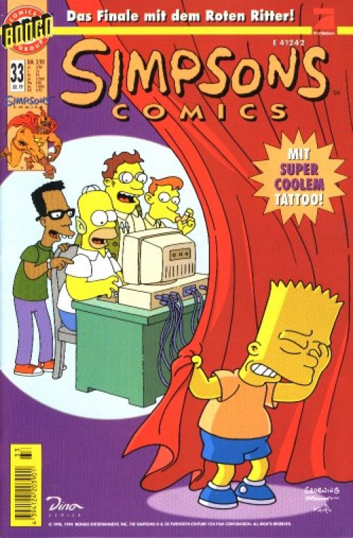 Simpsons Comic Nr. 33