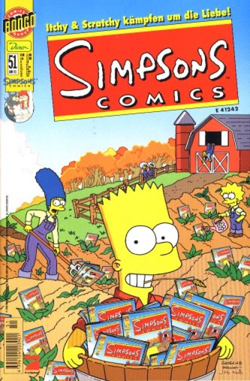 Simpsons Comic Nr. 51