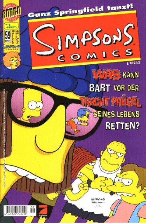 Simpsons Comic Nr. 59