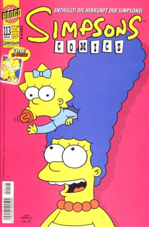 Simpsons Comic Nr. 113