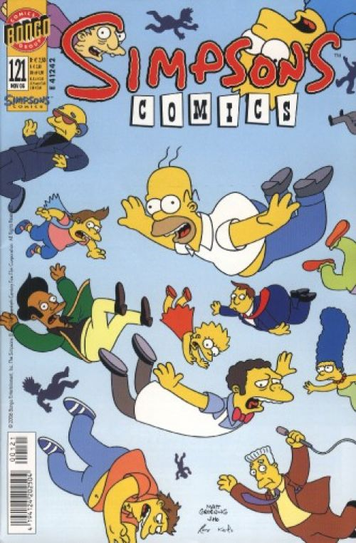 Simpsons Comic Nr. 121