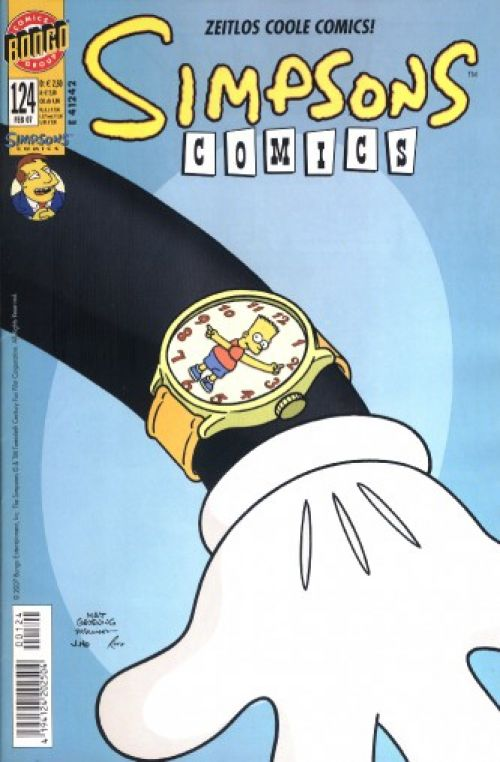 Simpsons Comic Nr. 124