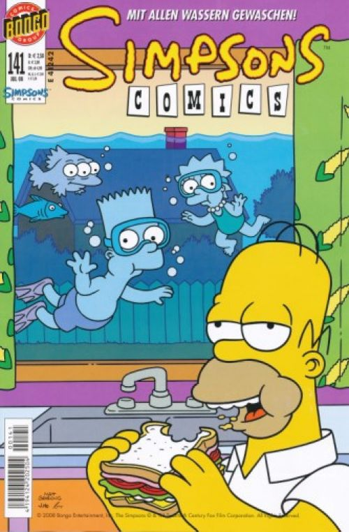 Simpsons Comic Nr. 141