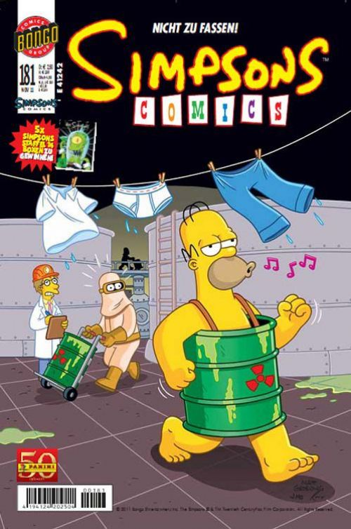 Simpsons Comic Nr. 181
