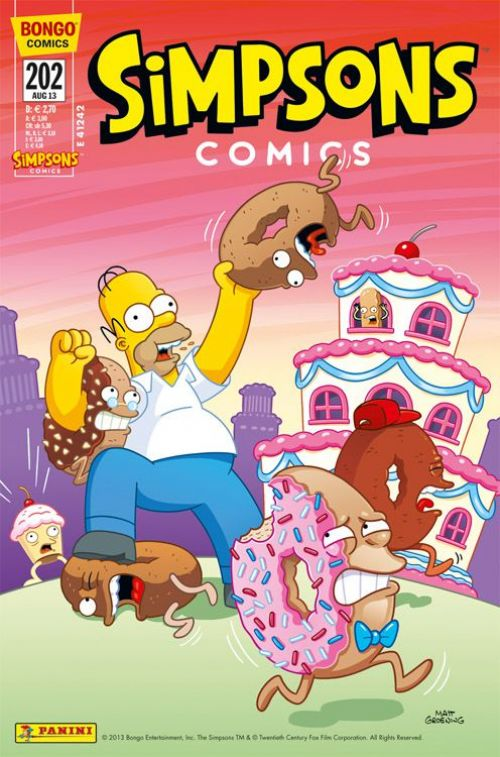 Simpsons Comic Nr. 202
