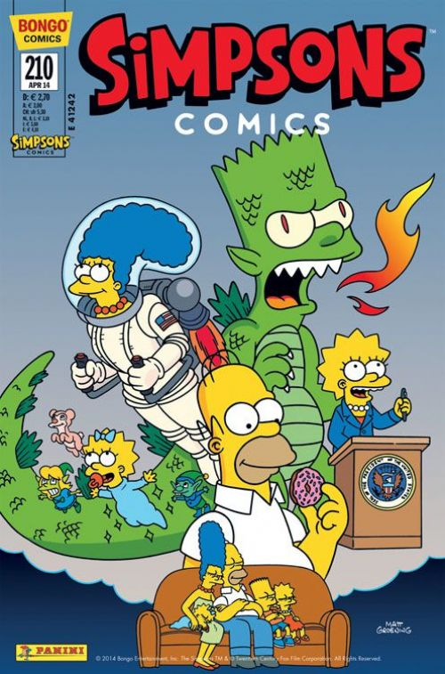 Simpsons Comic Nr. 210