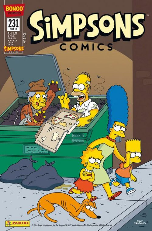 Simpsons Comic Nr. 231