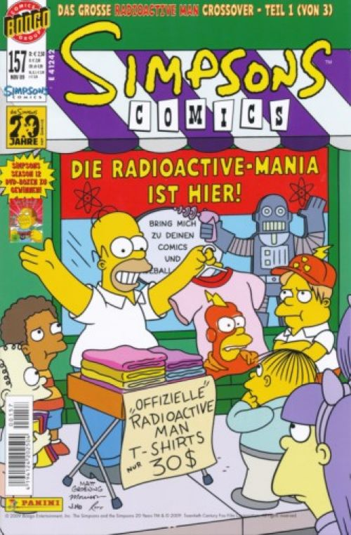 Simpsons Comic Nr. 157