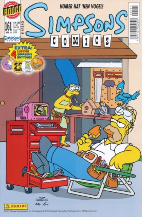 Simpsons Comic Nr. 161