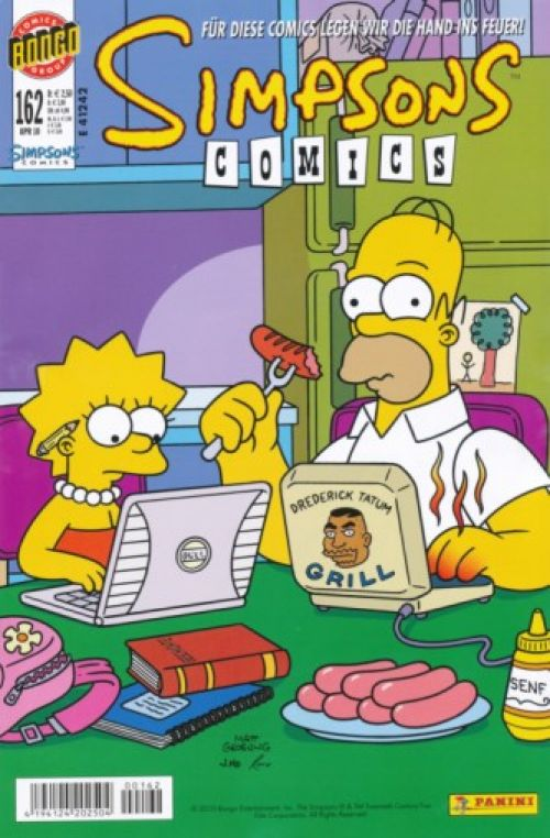 Simpsons Comic Nr. 162