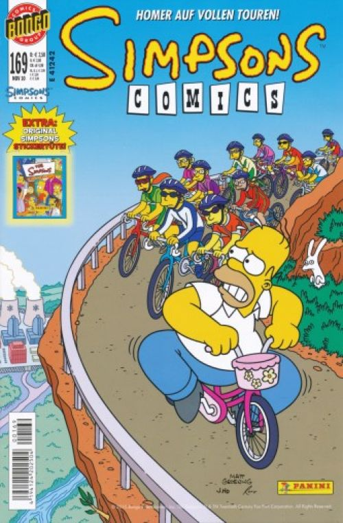 Simpsons Comic Nr. 169