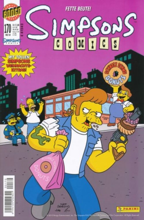 Simpsons Comic Nr. 170