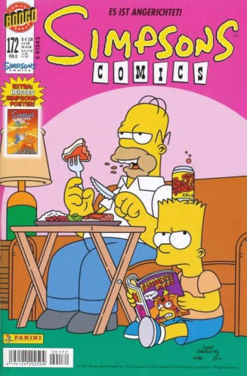 Simpsons Comic Nr. 172