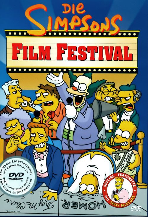 Simpsons Film Festival Cover