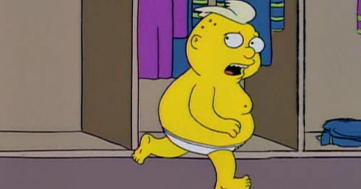 Nackt bild simpsons Edna Krabappel: