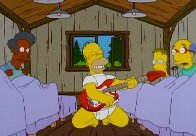 Die Simpsons - It's only Rock'n'Roll