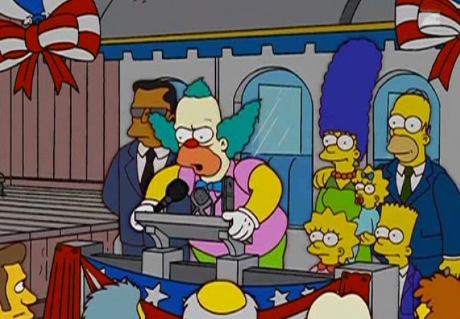 Die Simpsons - Krusty im Kongress