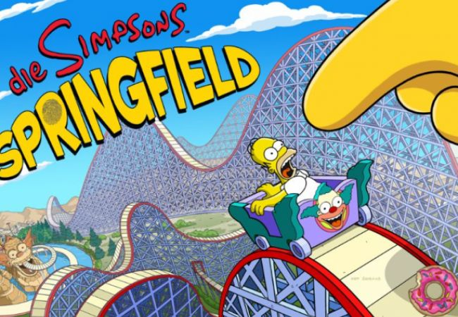 Krustyland-Update für Die Simpsons: Springfield / Tapped Out