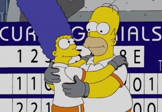 Die Simpsons - Curling Queen