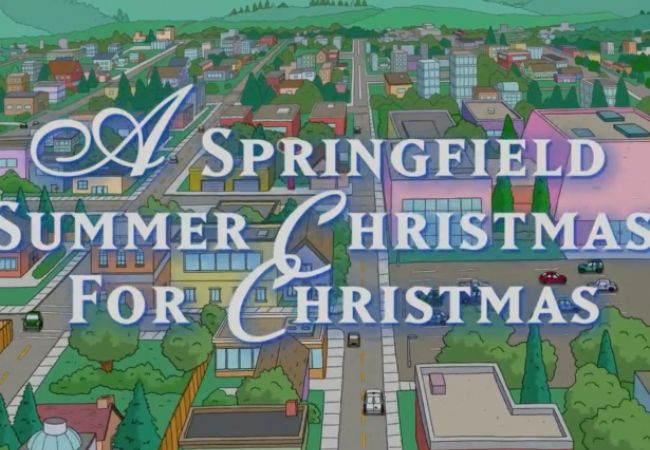 US-Premiere: A Springfield Summer Christmas for Christmas