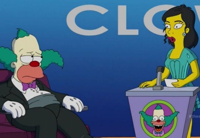 Die Simpsons - Ein trauriger Clown