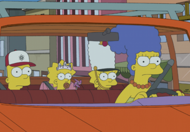 Die Simpsons - Driving Miss Marge