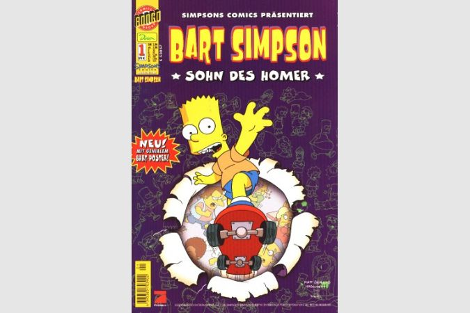 Bart Simpson Comic Nr. 1