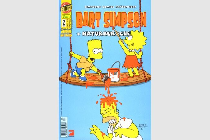 Bart Simpson Comic Nr. 2