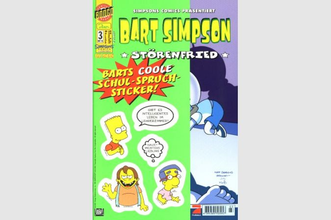 Bart Simpson Comic Nr. 3