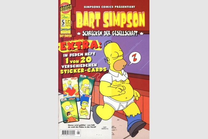 Bart Simpson Comic Nr. 5