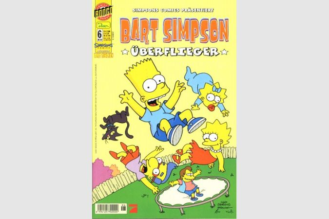 Bart Simpson Comic Nr. 6