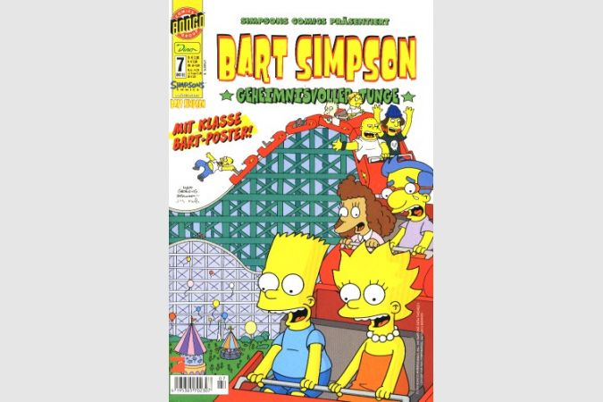 Bart Simpson Comic Nr. 7