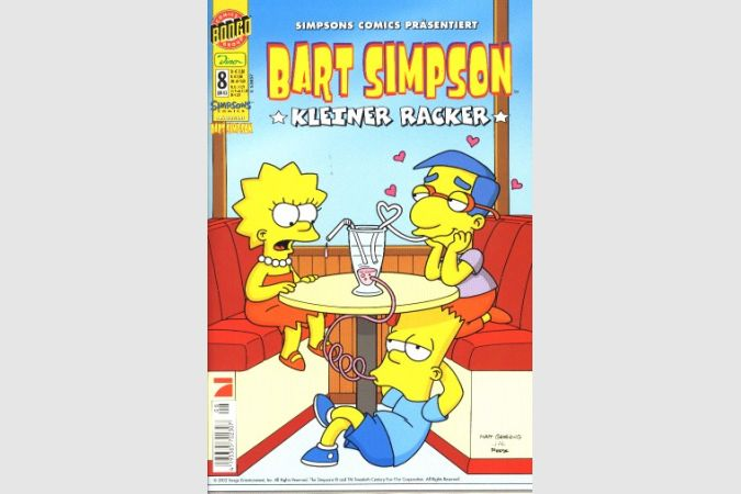 Bart Simpson Comic Nr. 8