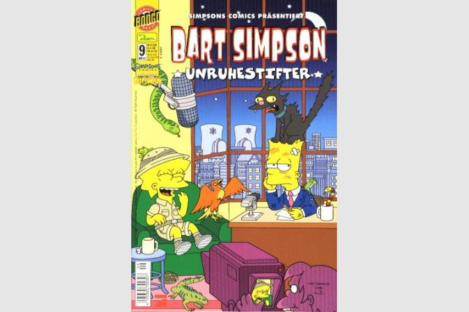 Bart Simpson Comic Nr. 9