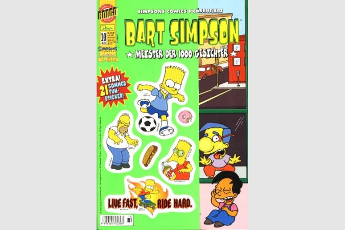 Bart Simpson Comic Nr. 10