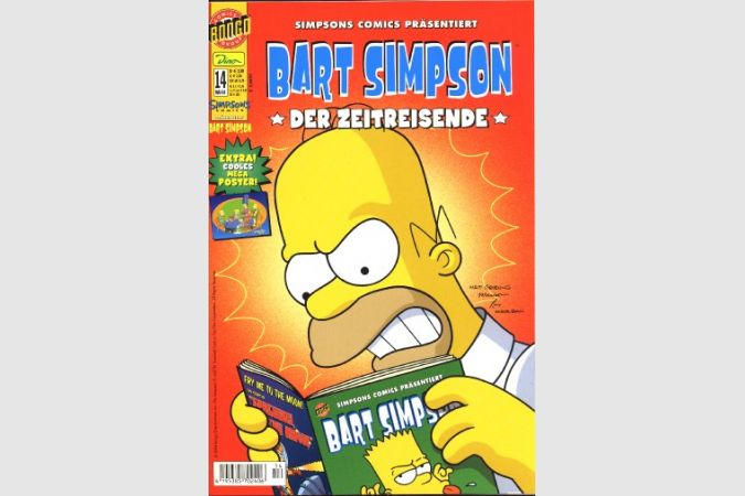 Bart Simpson Comic Nr. 14