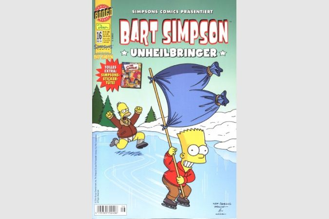 Bart Simpson Comic Nr. 16