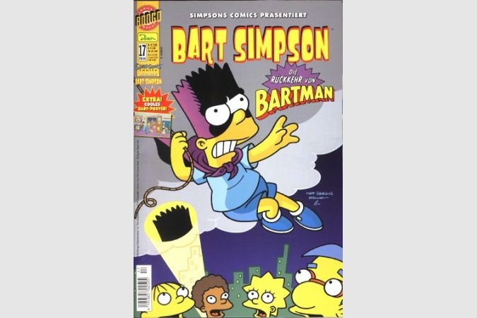 Bart Simpson Comic Nr. 17