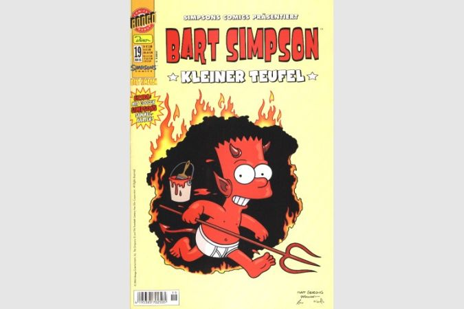 Bart Simpson Comic Nr. 19